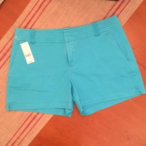 New York & Co teal shorts